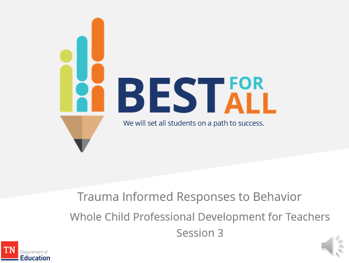 Trauma informed responses to behavior